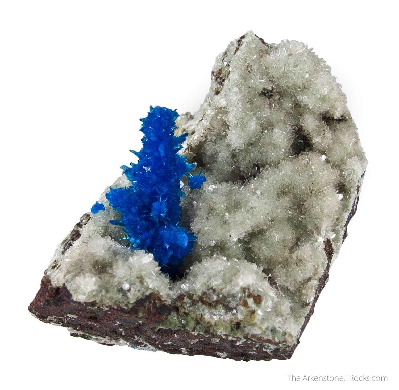 This outstanding matrix specimen pentagonite A 2 5cm tall pentagonite