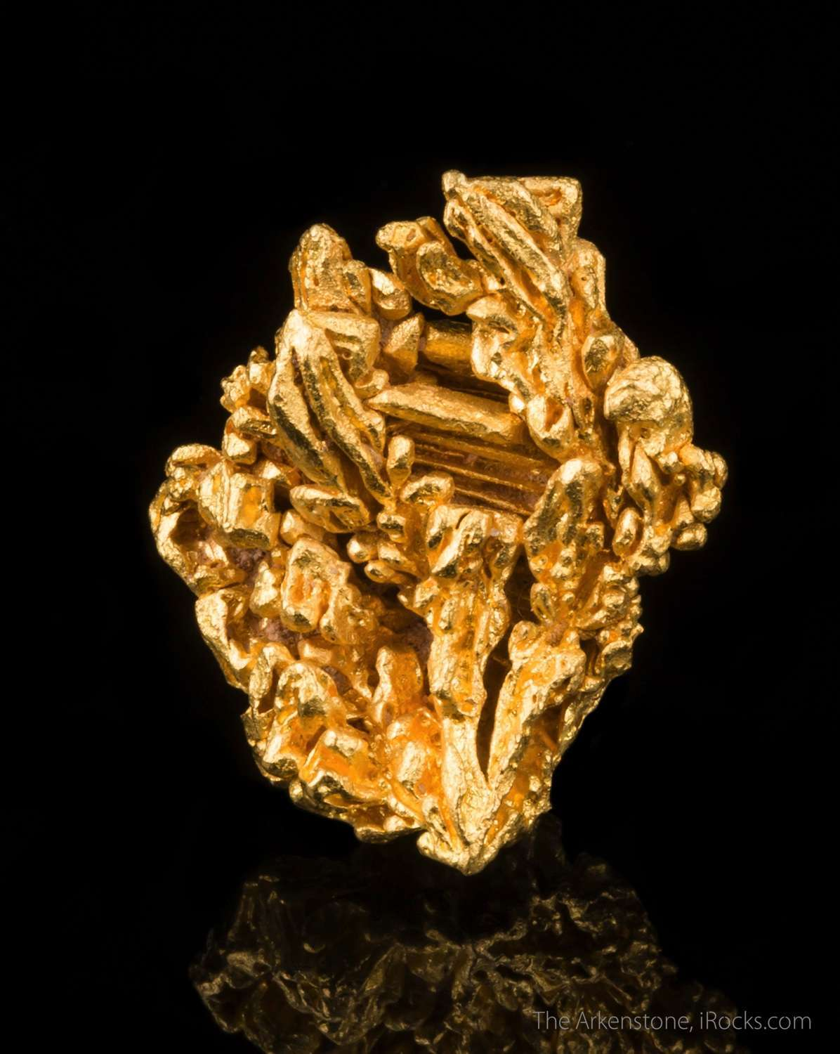 buy natural gold crystals from the arkenstone