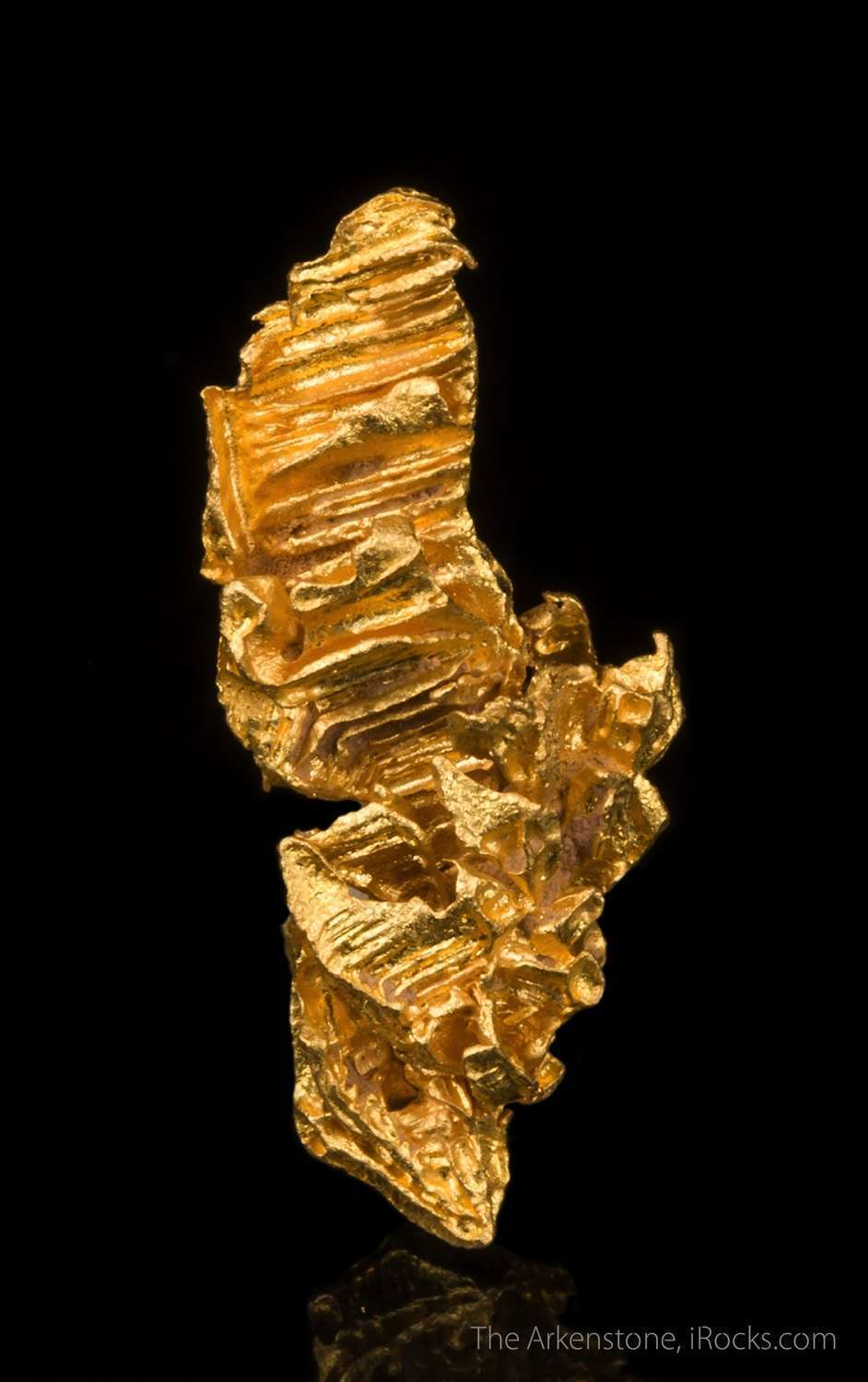 native gold nugget mau07 ballarat area australia