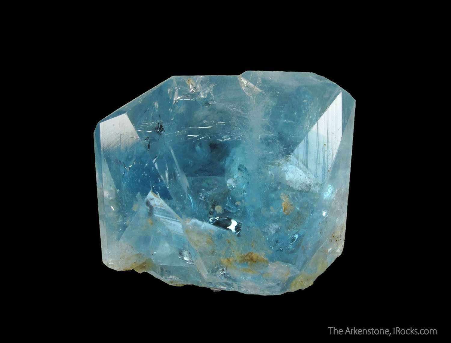A VERY RARE exquisitely colored GEMMY blue Topaz small prospect