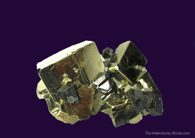 From famous Huanzala Mine Peru BEAUTIFUL SHARP cluster brilliant