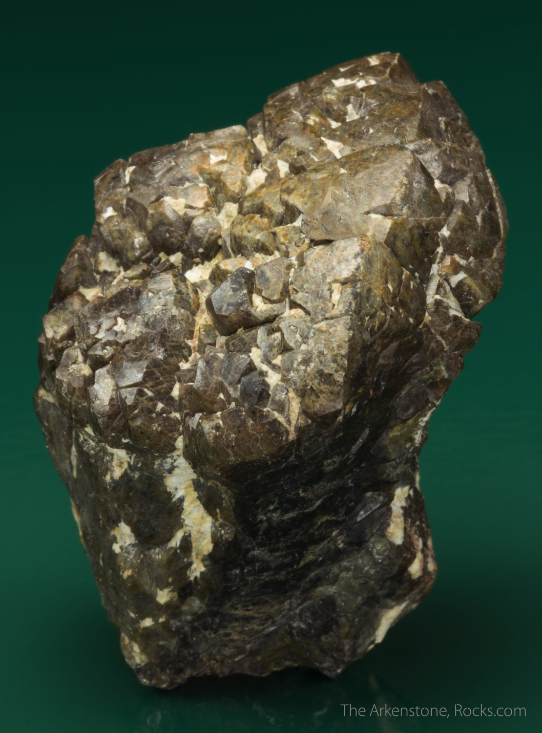 A large specimen accessory mineral Well formed brownish tetragonal