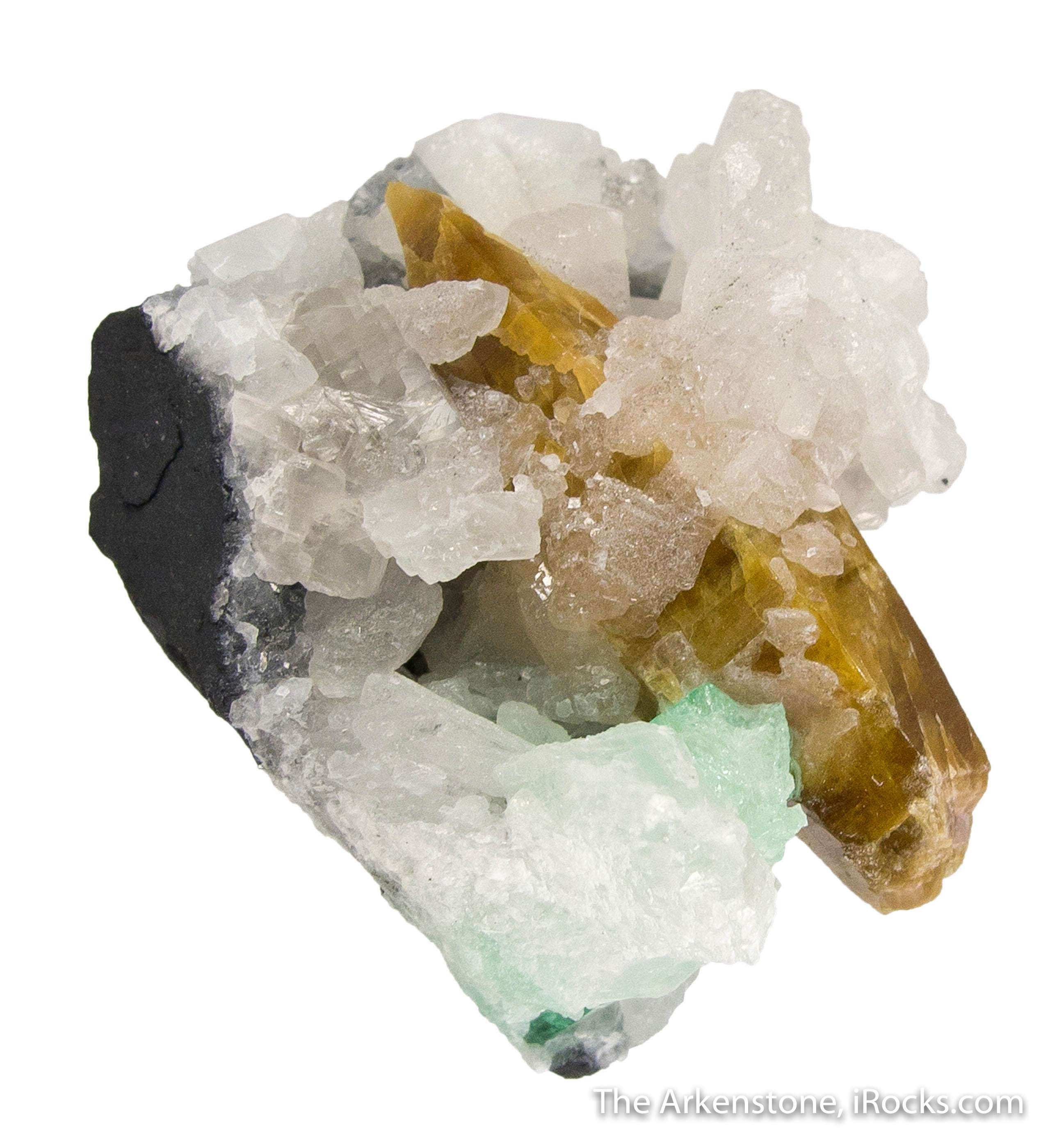 What great rare combination specimen emerald mines Colombia The