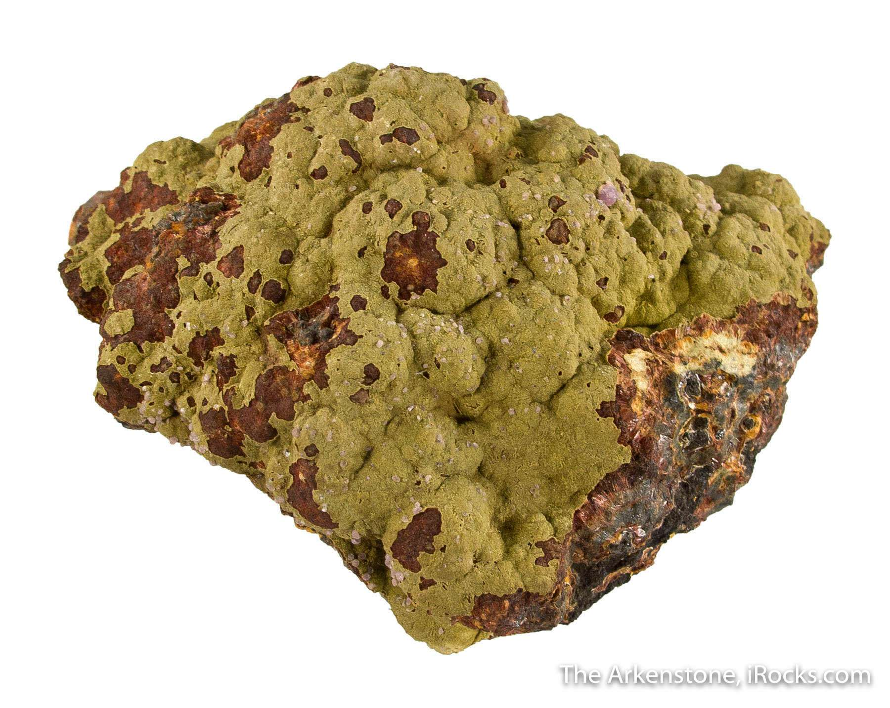 A nice large cabinet specimen hummocky surface beraunite dufrenite