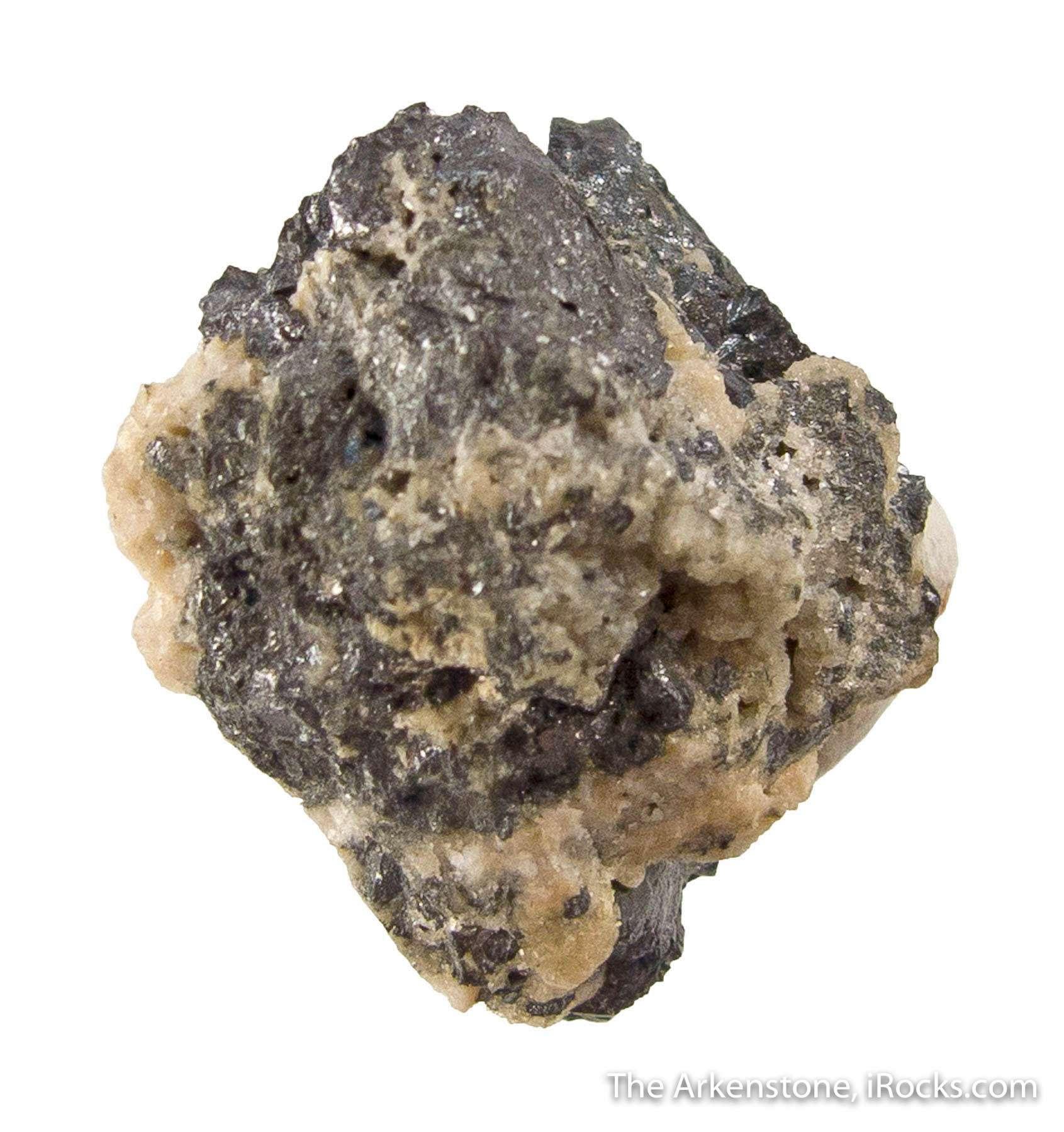 An exceptional thumbnail exceedingly rare silver tin sulfide