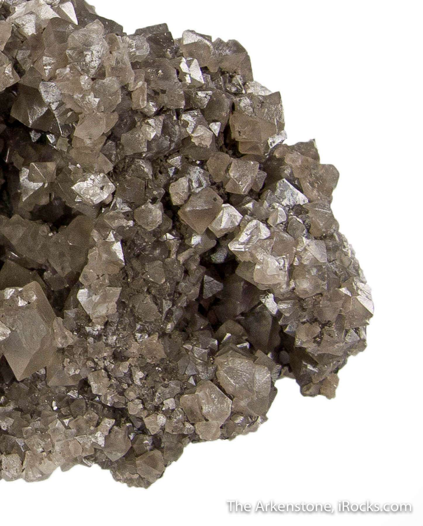 This extraordinary cluster senarmontite crystals significant