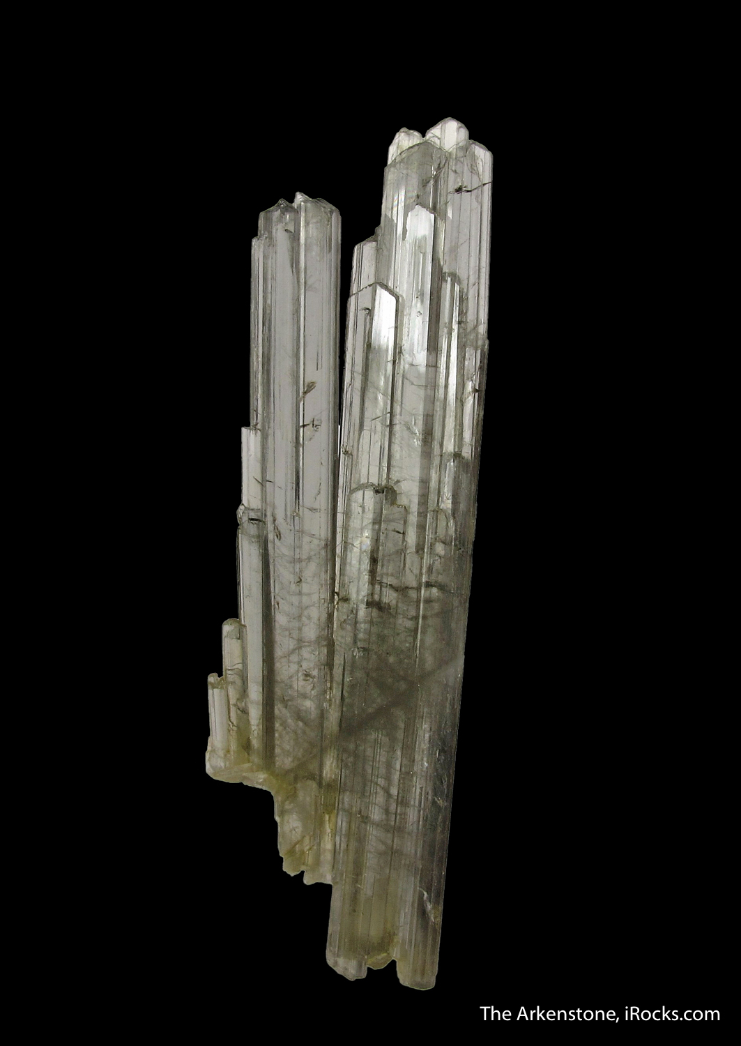 These Zoisite crystals Alchuri delicate attractive The blades silvery