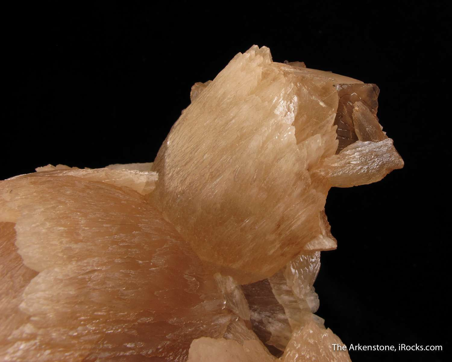 This large imposing combination piece Minerva Mine The Calcite wheat