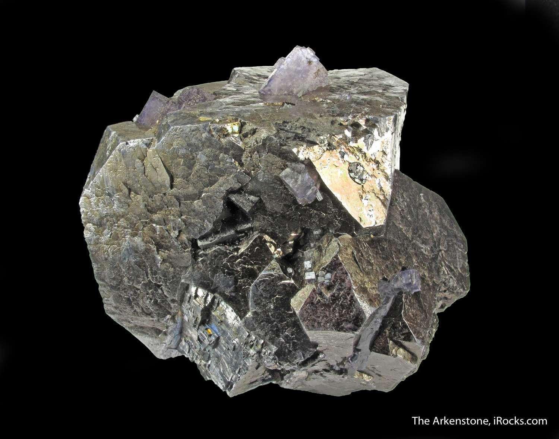 Imposing massive Galena Fluorite Denton Mine really quite significant
