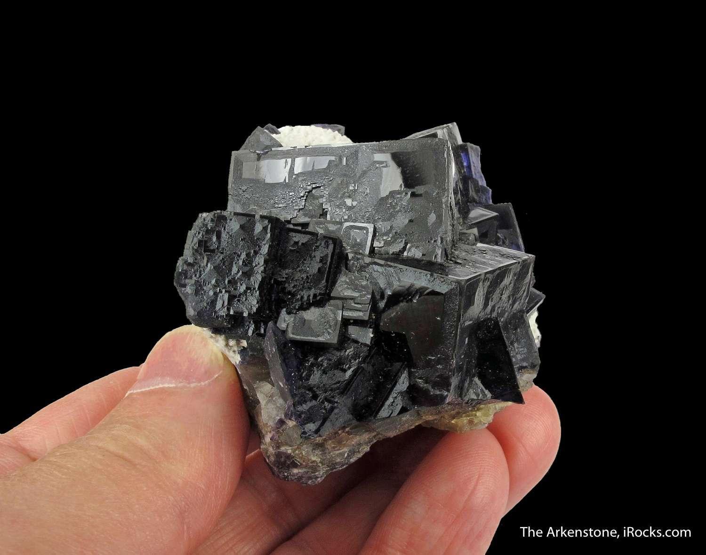 Outstanding combination specimen Minerva 1 Mine The deep purple