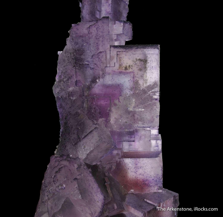A unique Exceptional Minerva Fluorite rectangular elongated component