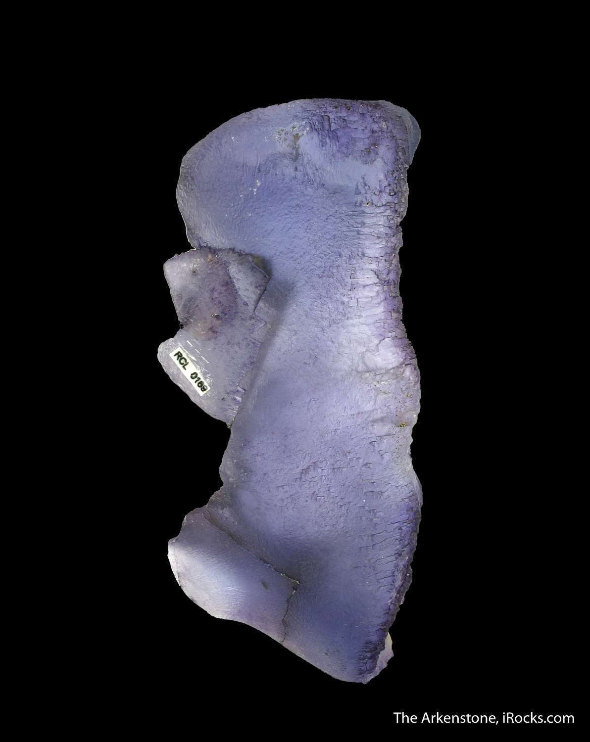 This highly etched floater Fluorite Denton Mine exemplary levels First