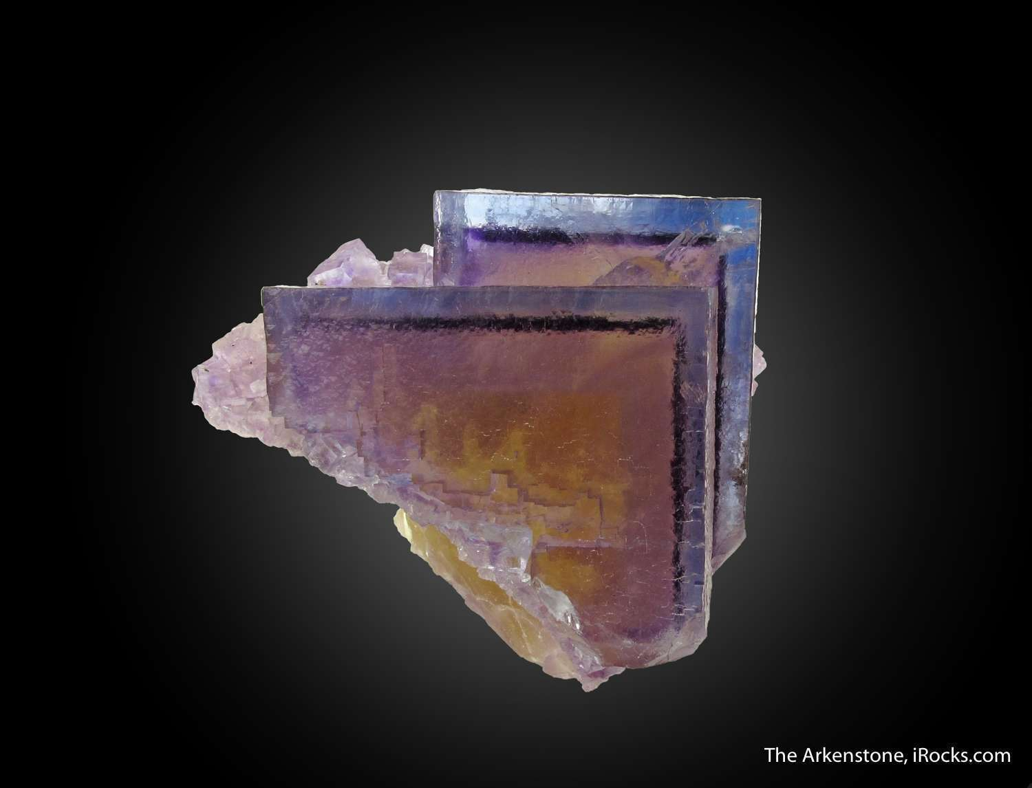 Stunning classic Minerva beauty zoned Fluorite simply speaks The small
