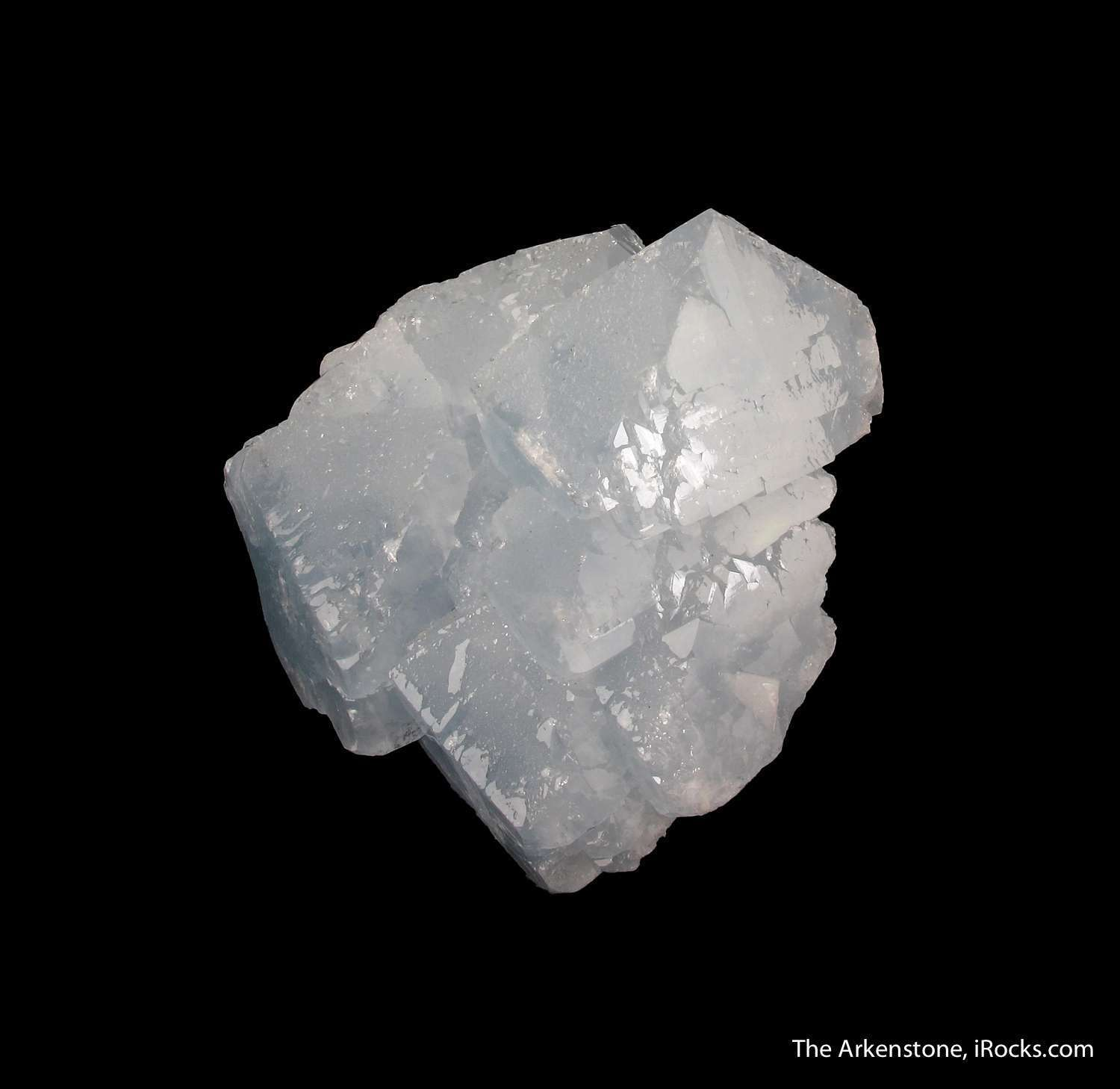 Normally delicate bladed fans developed Celestine quite uncommon