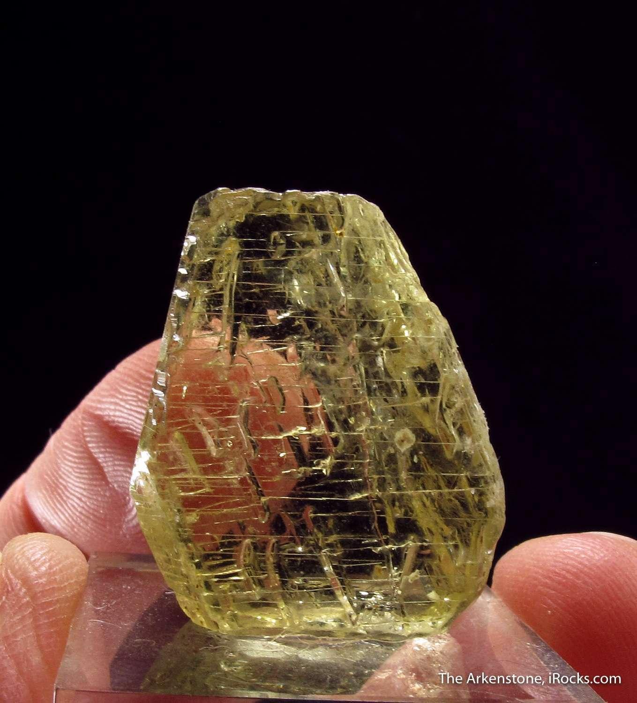 The Itrongay region Madagascar produced finest gem crystals Sanidine