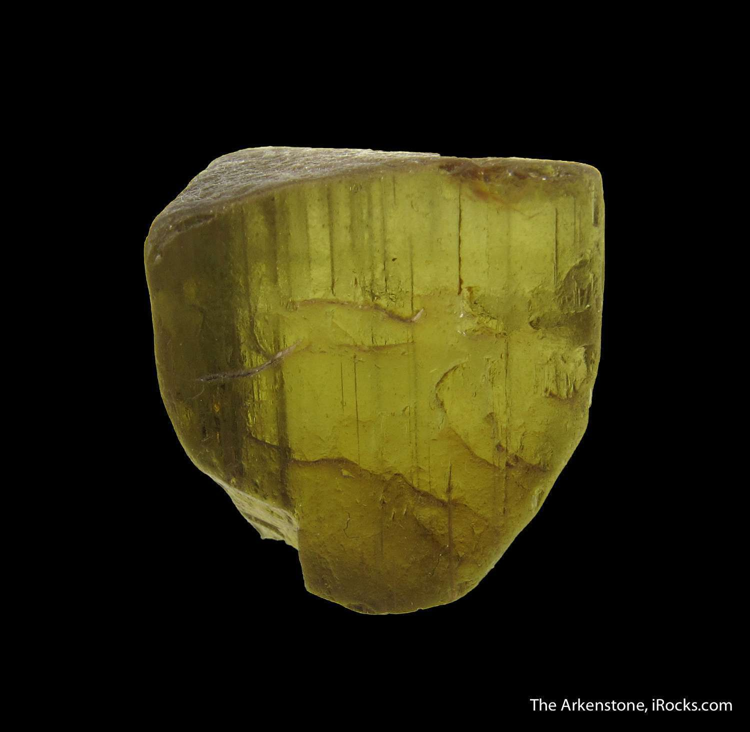 Excellent gemmy crystal Andalusite seen known location Brazil tht