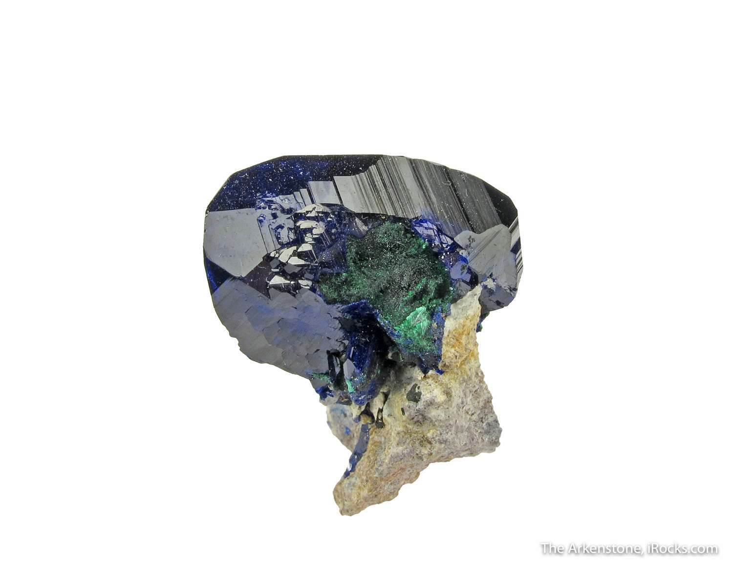 Bold brilliant intricately detailed Azurite cluster stunning The