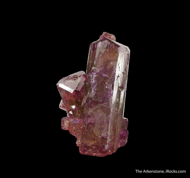 Classic deep purple Vesuvianite world famous Jeffrey Mine The crystal