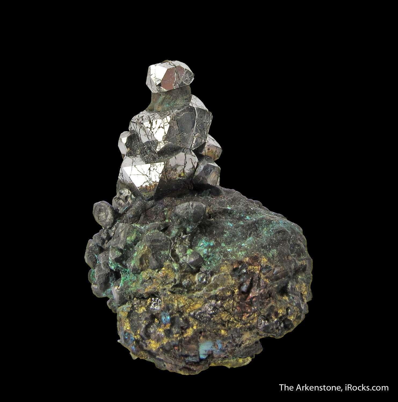 In crystalline form Sperrylite world s great platinum minerals quality