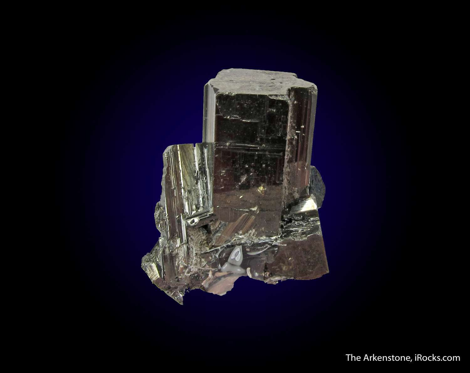 A fine aesthetic complete cluster Bournonite crystals famous