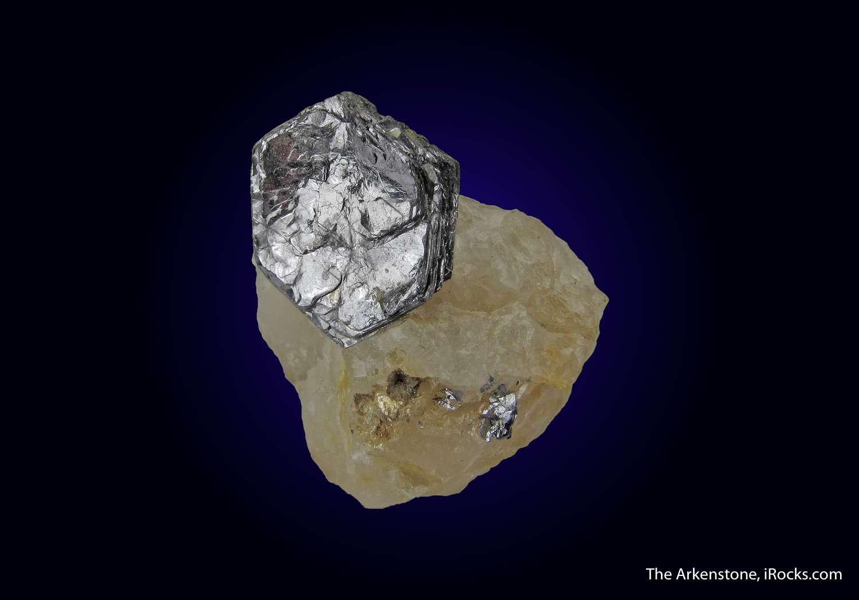 This shockingly good Molybdenite matrix great balance luster excellent