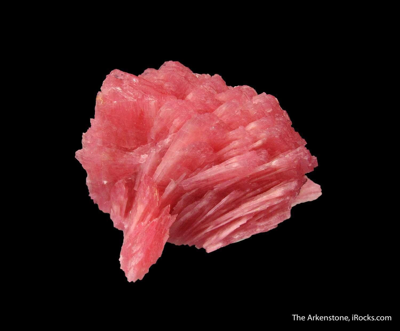 Pleasing eye fine cluster Rhodonites known San Martin Mine Peru The