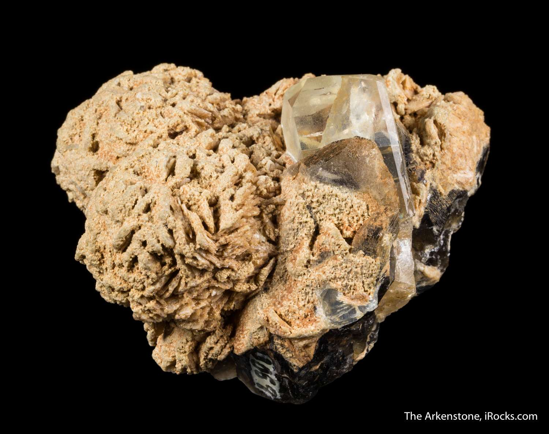 Blue topaz crystals Urals treasured 200 years Although color matrix