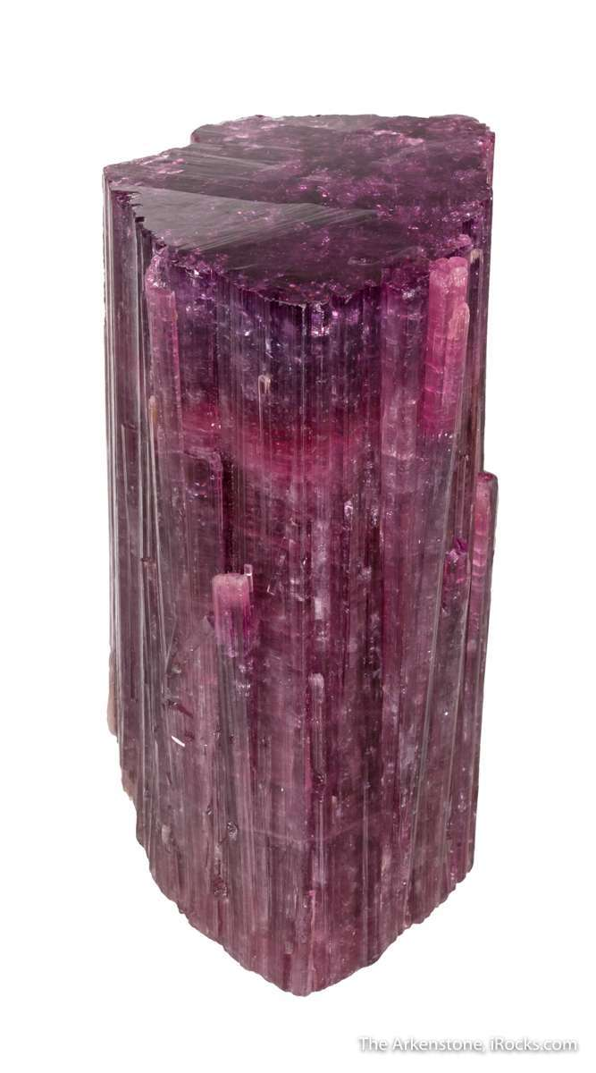 This large impressively beautiful glassy translucent tourmaline freaky