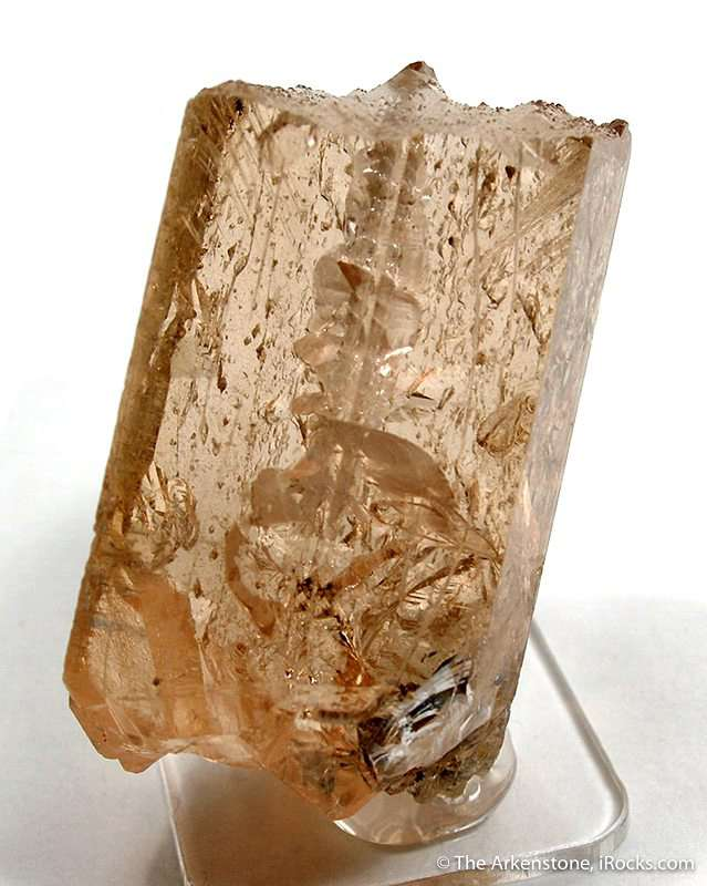A really unusual miniature topaz specimen pizzazz just typical gemmy