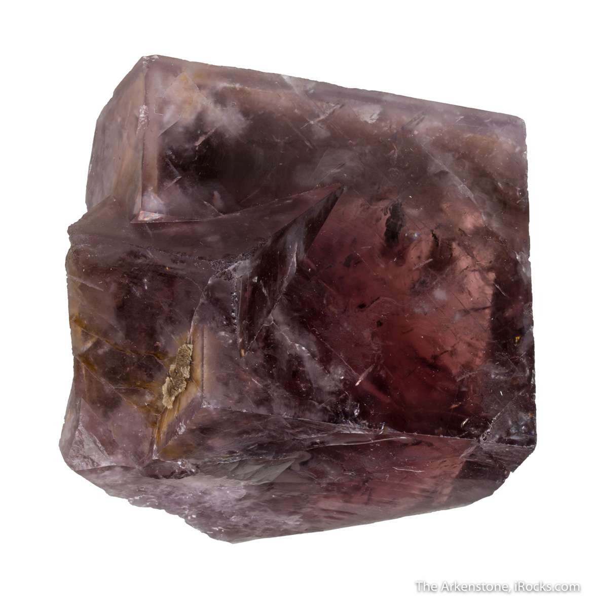 The word fluorescence coined effect miners saw fluorites district