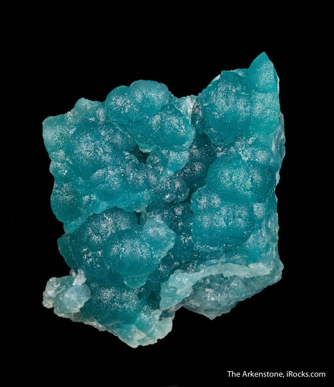 One rarest finds Tsumeb gem blue willemite seldom seen sale This piece