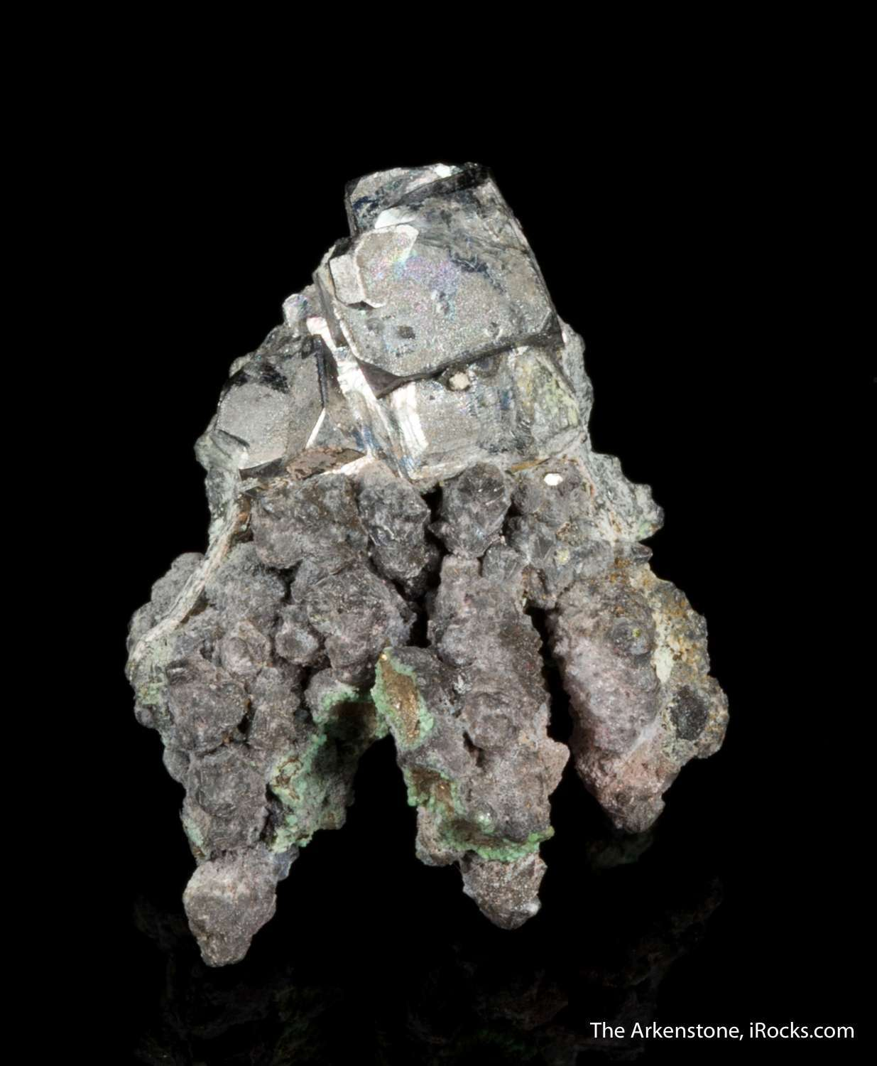 This old time specimen cobaltite sulfide composed cobalt arsenic