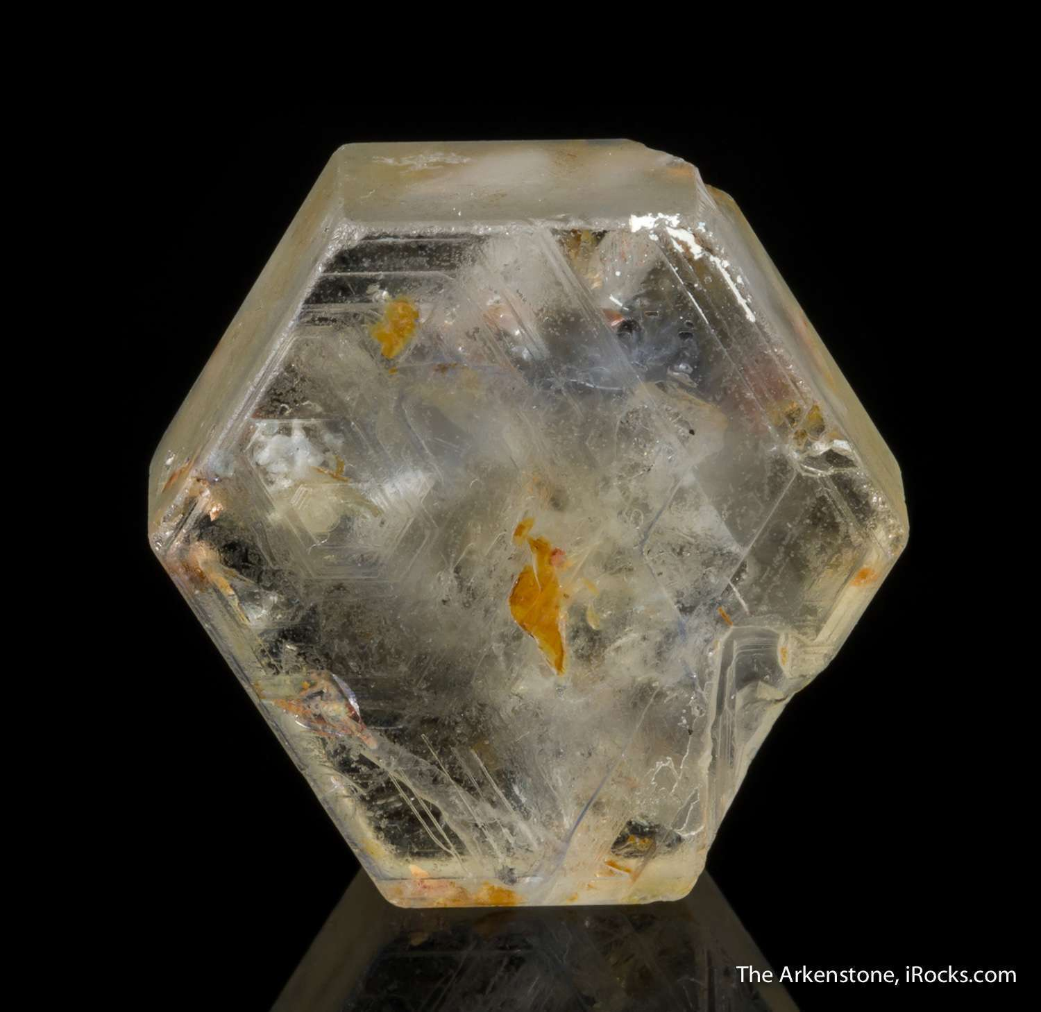 An unusual piece This tabular doubly terminated crystal corundum var