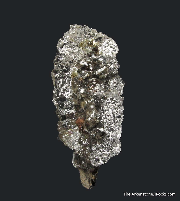 Superb 5 cm long wreath totally gemmy glassy botryoidal Hyalite Opal