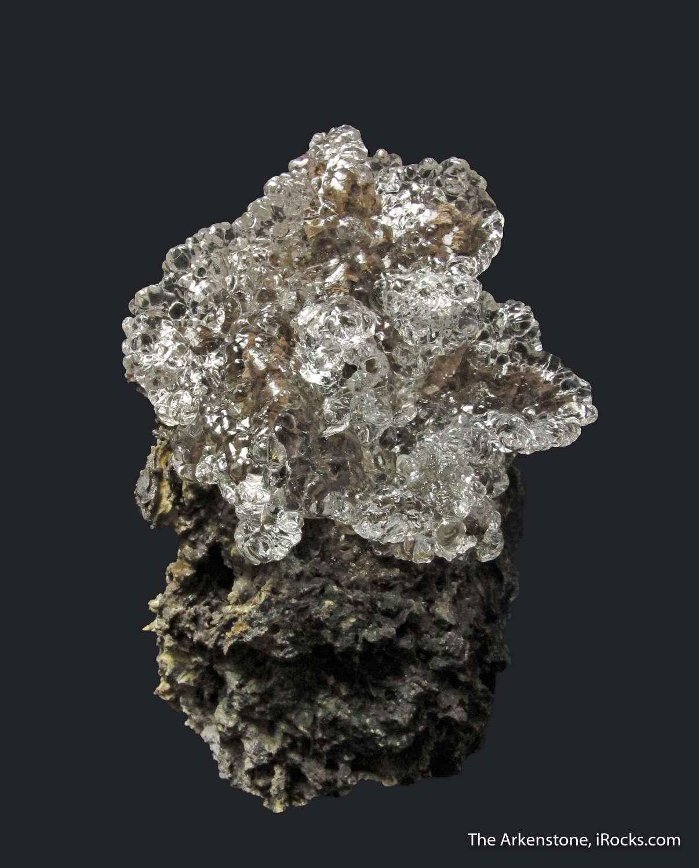 Outstanding large hosts 5 cm flower gemmy glassy Hyalite Opal
