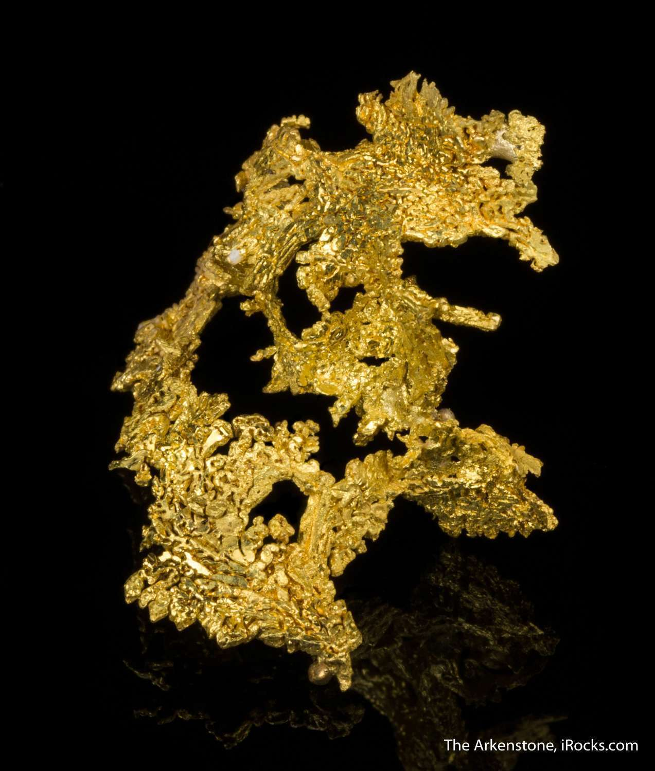 A particularly elegant large miniature shaped somewhat like gold
