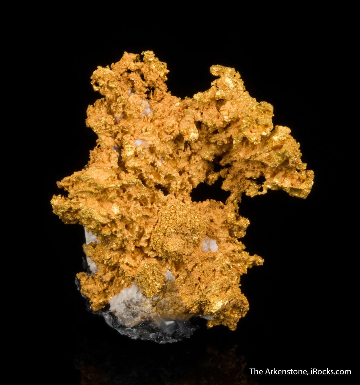 Arizona golds rarely seen sale This rare locality gold specimen cute