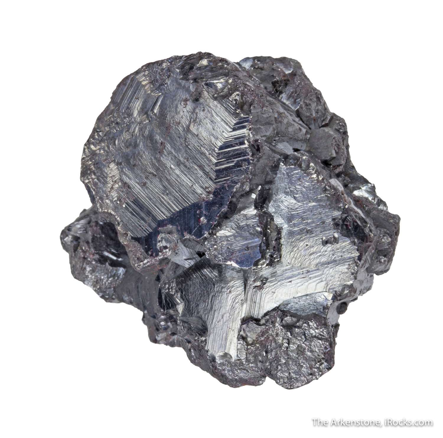 This huge crystal shield like termination inch perched amidst massive
