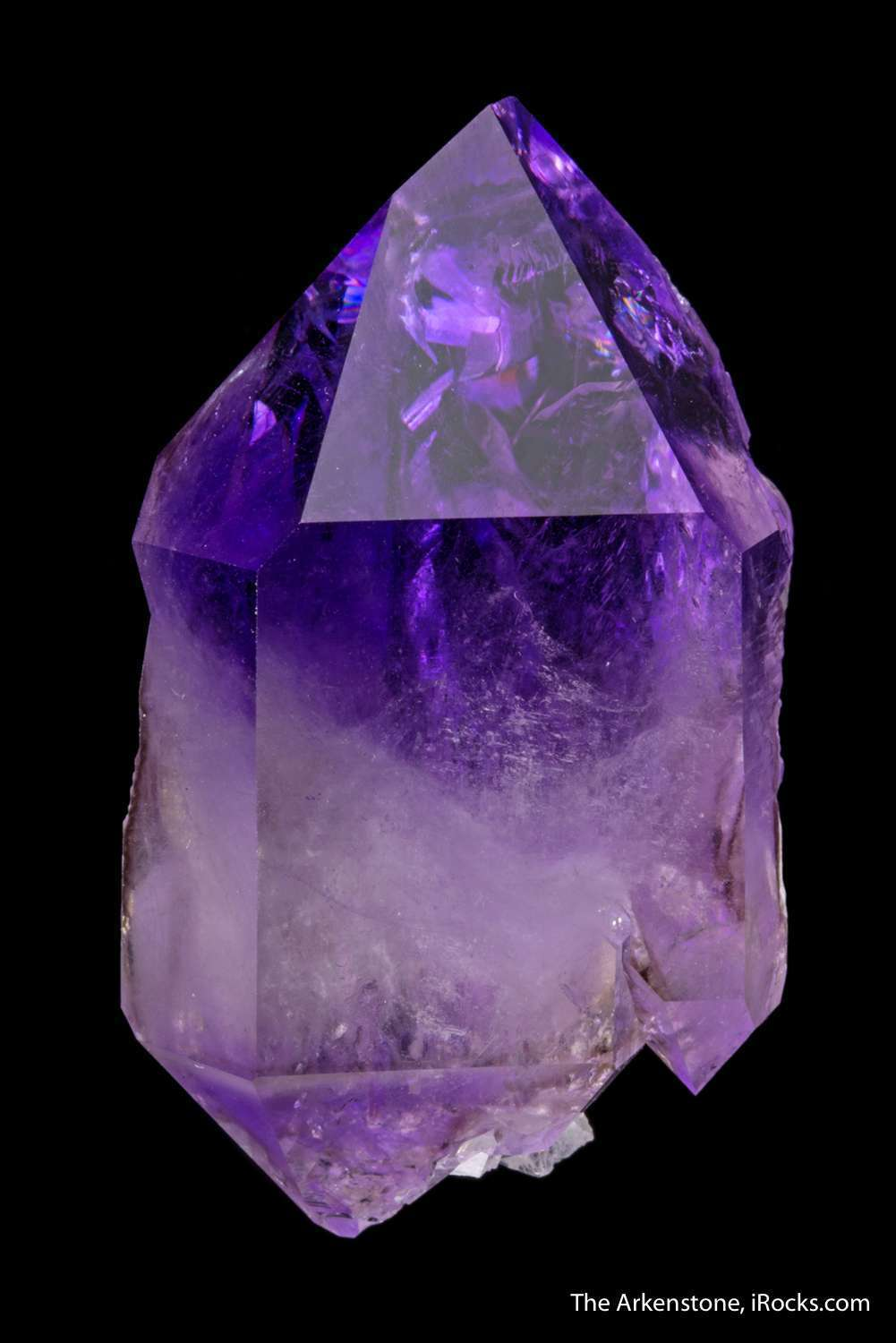 Many consider amethysts small difficult quarry rural northern Georgia