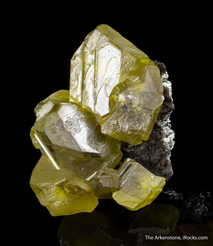 A gorgeous gem sphalerite miniature competition level Sphalerite