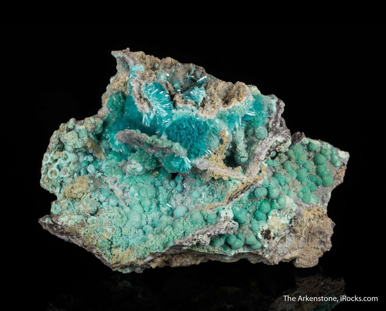 Aurichalcite old copper justifiably famous collectors samples survive