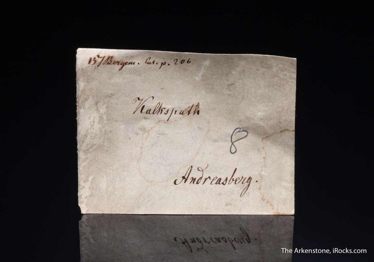 A historic old German specimen Obodda collection Andreasberg suite