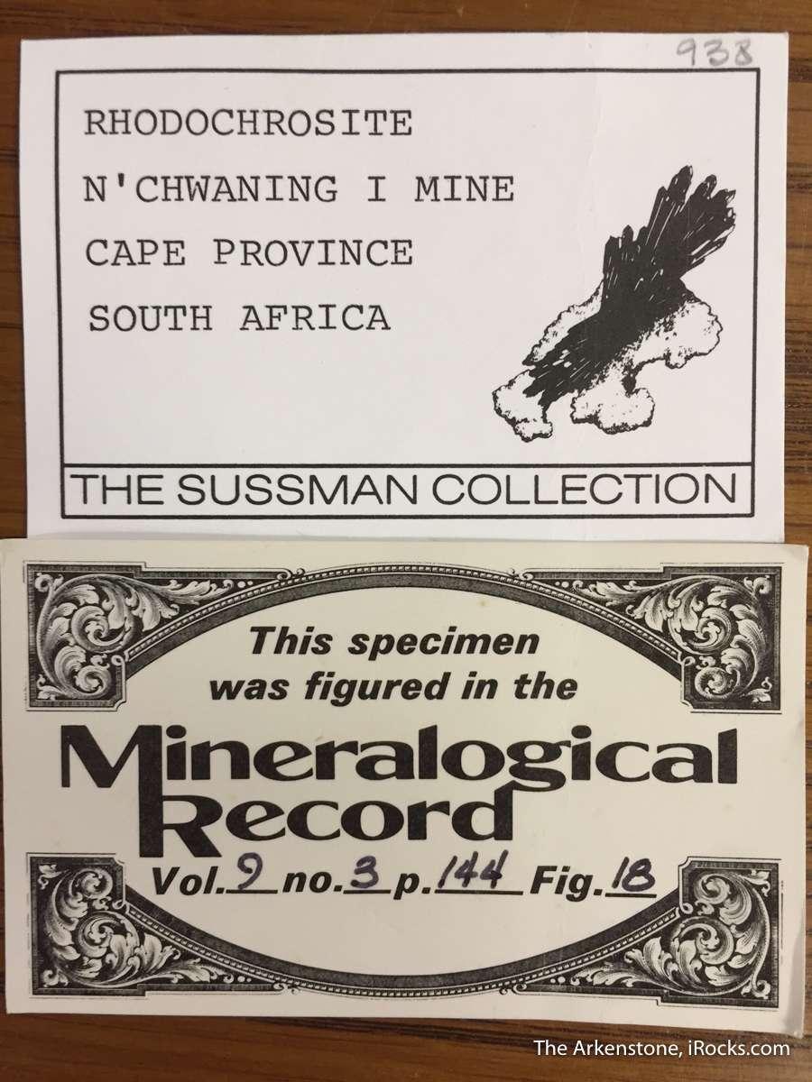 Of specimens rhodochrosite styles produced rich Kalahari Mines late