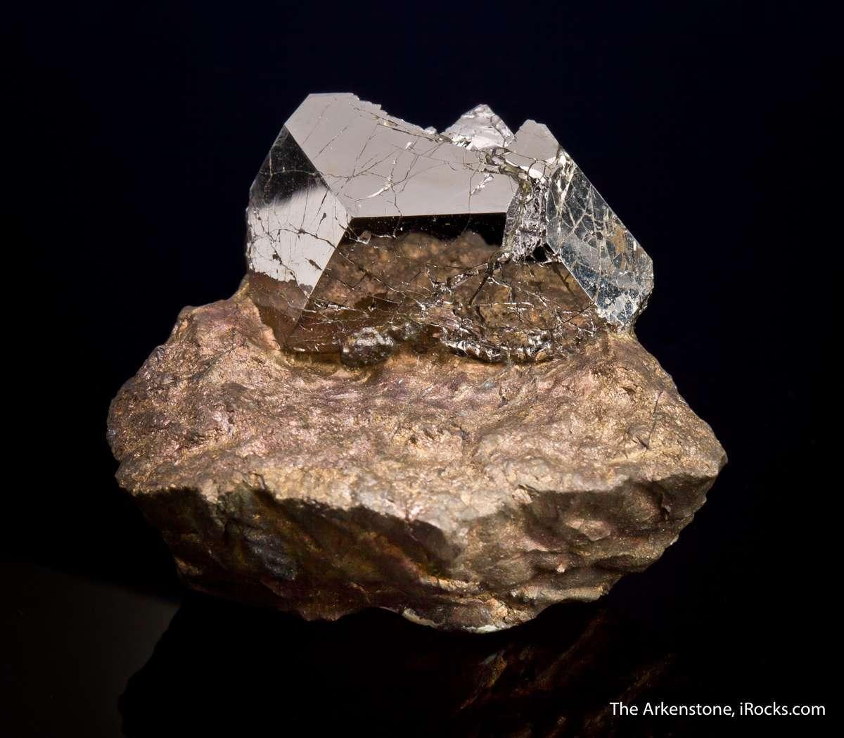 An important specimen rare platinum species crystal significant size