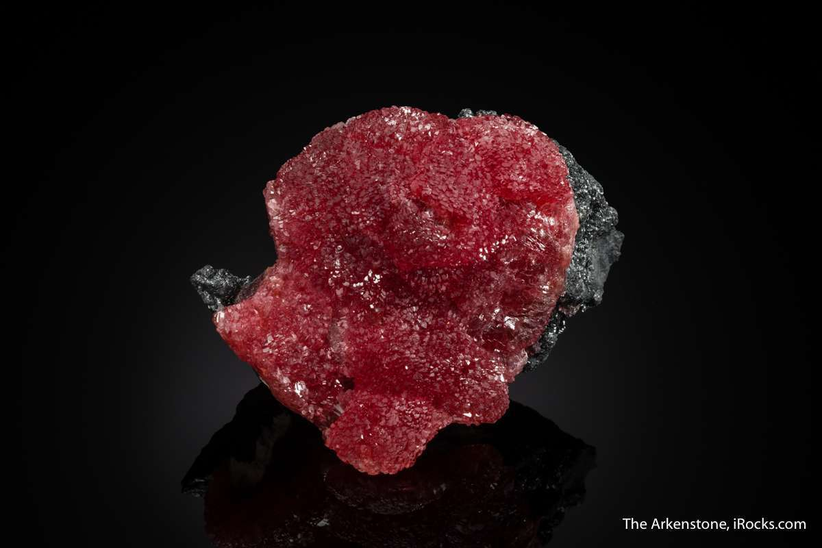 Sparkly Cherry red rhodochrosites oldest finds late 1970 s legendary