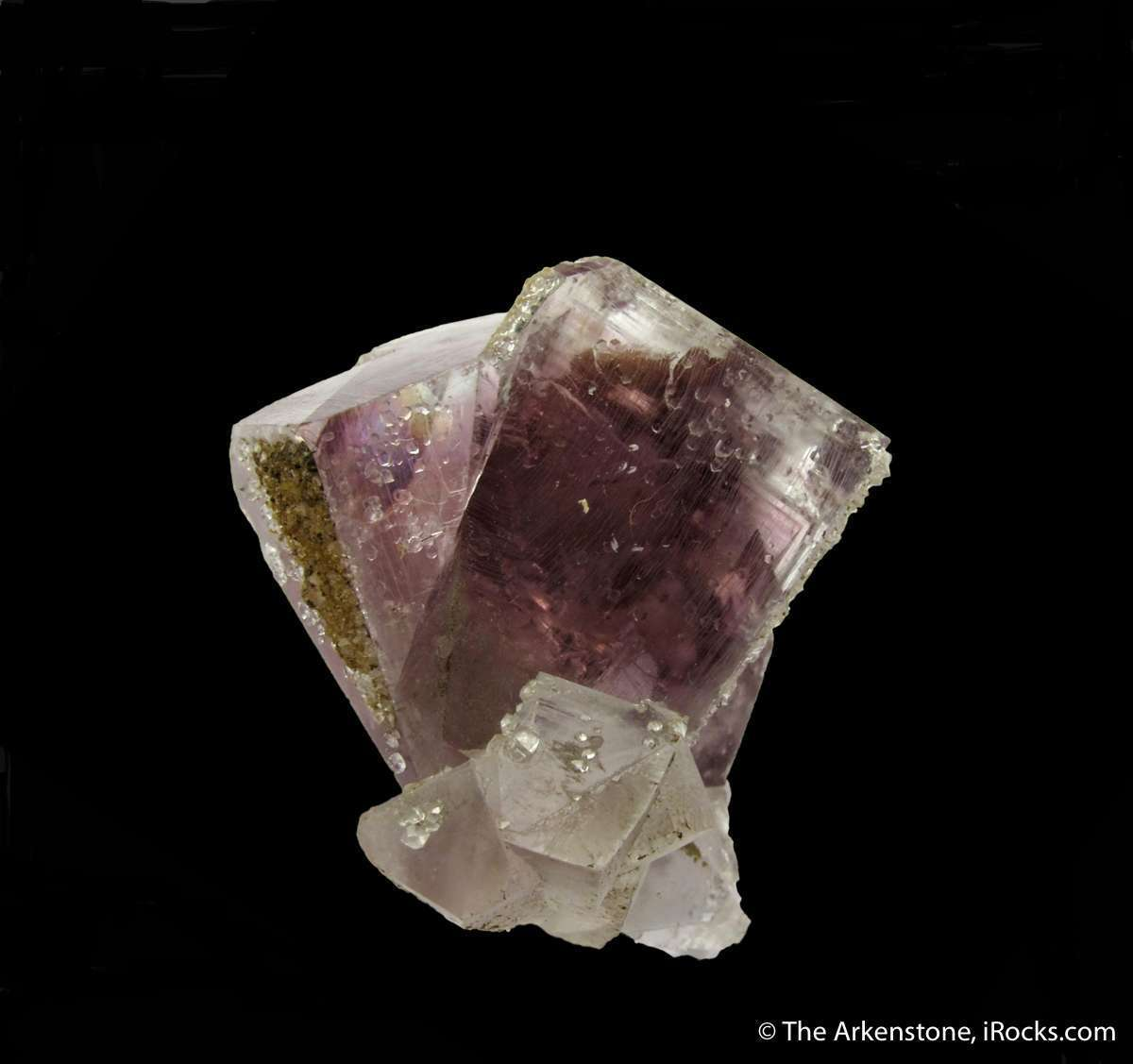 The term classic certainly applies famous interpenetration Fluorite
