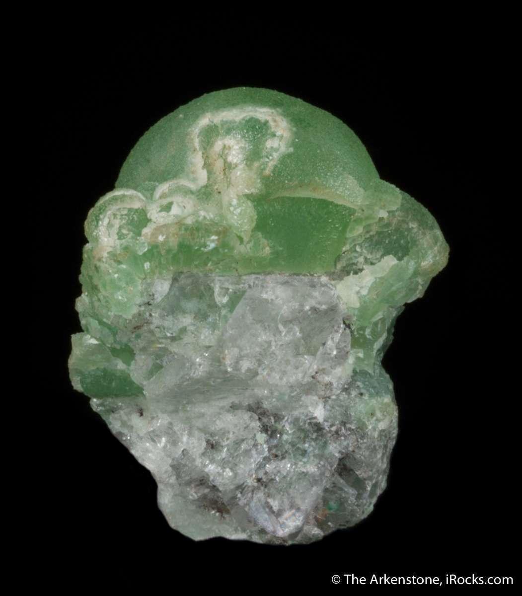 A unusual robust green smithsonite specimen classic old mines Laurium