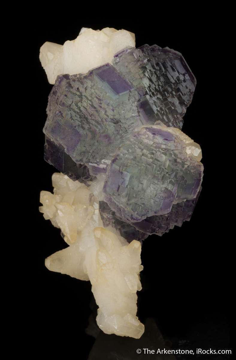 One buys foremost colorful complexly modified fluorite crystals