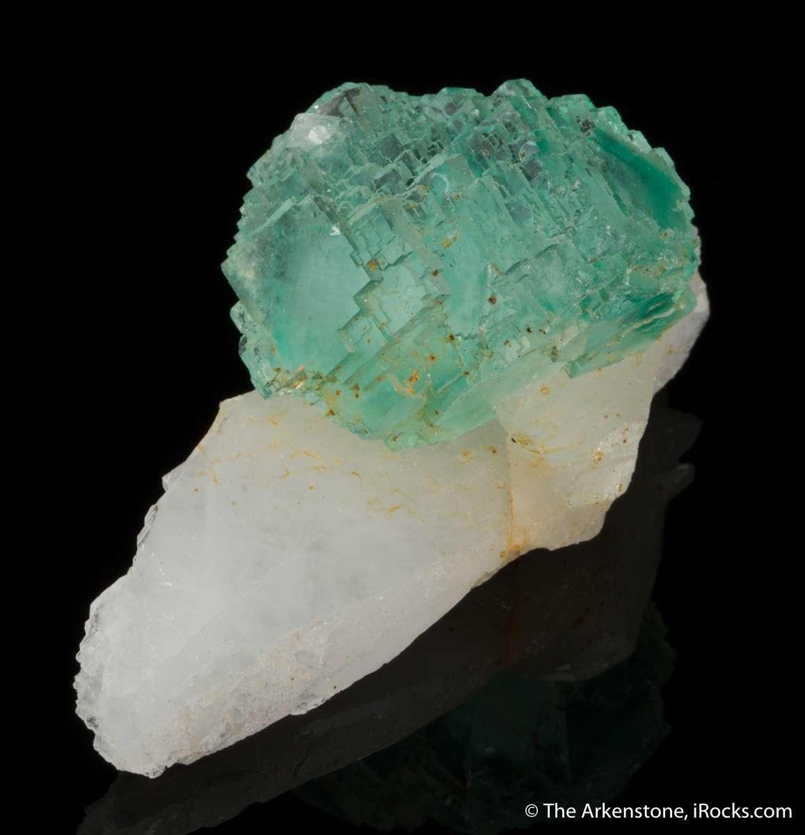 Intense pastel green fluorite Yaogangxian rare desired colors complex