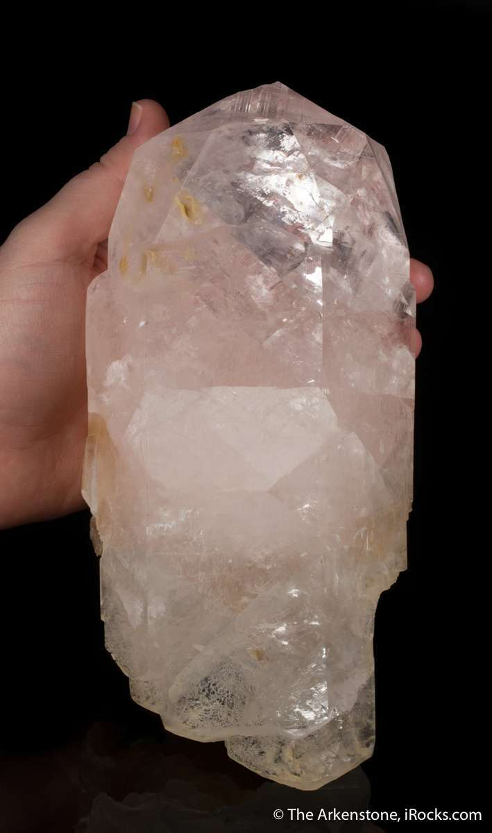 A significant LARGE crystal showing classic form gemminess wonderful
